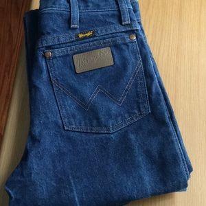 Wrangler blue  jeans pants S 28x 34